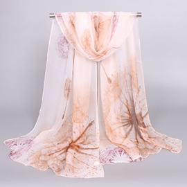 Ericdress Beautiful Chiffon Printed Scarf