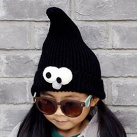 Ericdress Big Eyes Decorated Kid's Knitted Hat