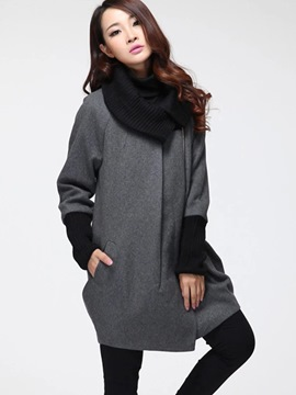Ericdress Loose Asymmetric Plus Size Hoodie