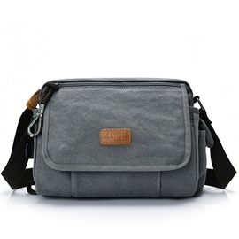 Ericdress Multifunction Canvas Men's Shoulder Bag