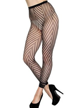 Ericdress High-Waist Fishnet See-Through Pantyhose