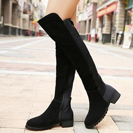 Ericdress Patchwork Thigh High Boots