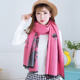 Ericdress Parachute Pattern Double Side Shawl Scarf