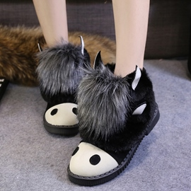 Ericdress Cartoon Animal Snow Boots