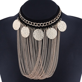 Ericdress Alloy Sequined Tassels Jewelry Set