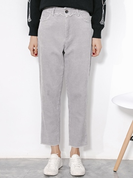Ericdress Worn Thick Loose Pants
