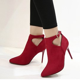 Ericdress OL Point Toe High Heel Boots