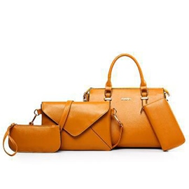 Ericdress Europe Style Solid Color Handbags(4 Bags)