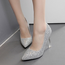 Ericdress Charming Sequins Point Toe Pumps