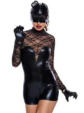 Ericdress Mysterious Hollow Long Sleeve Costume