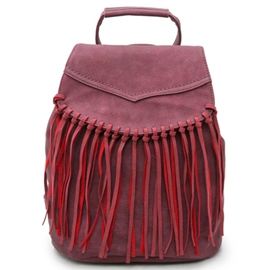 Ericdress Versatile Vogue Tassel Travel Backpack