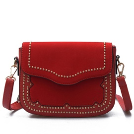 Ericdress Korean Rivets Decorated Mini Crossbody Bag