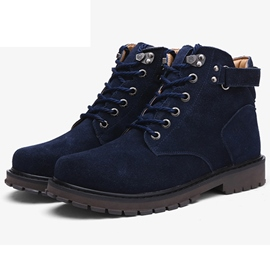 Ericdress Fashion Suede High Top Men's Martin Boots