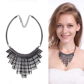 Ericdress Vintage Style Short Tassel Necklace