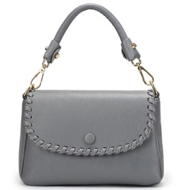 Ericdress Soft Knitted Thread Decorated Shoulder Bag