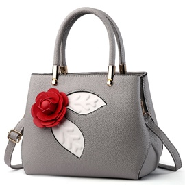 Ericdress Stereo Flower Decorated Handbag