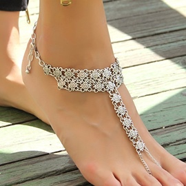 Ericdress Alloy Coins Pattern Anklet