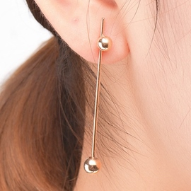 Ericdress Concise All Matched Copper Earrings