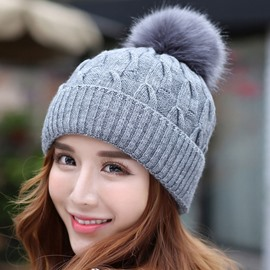 Ericdress Lovely Thicken Knitted Hat for Women
