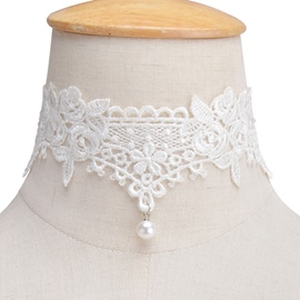 Ericdress All-Matched Retro Lace Choker Necklace