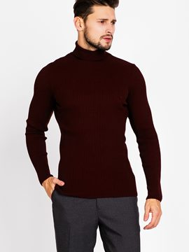 Ericdress Plain Warm Pullover Men's Sweaters