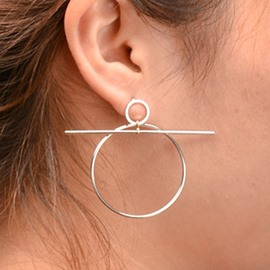Ericdress Unique Alloy Circle Design Earrings