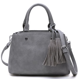 Ericdress Simple Tassel Bucket Handbag