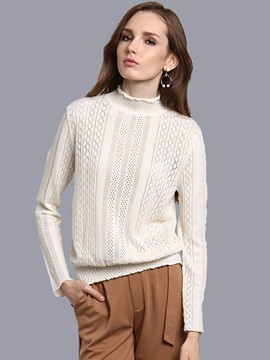 Ericdress Loose Turtleneck Knitwear
