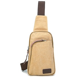 Ericdress Casual Washable Canvas Men's Waist Bag