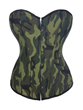 Ericdress Camouflage Lace-Up Fancy Corset
