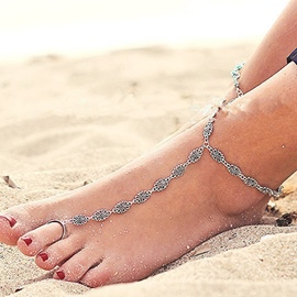 Ericdress Hollow-Out Pattern Design Anklet