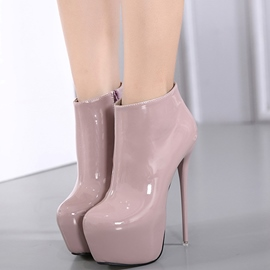 Ericdress Patent Leather Platform High Heel Boots