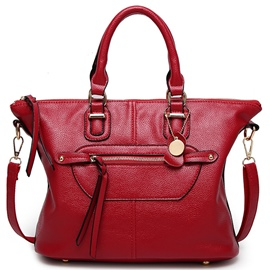Ericdress Lichee Pattern Smile Handbag
