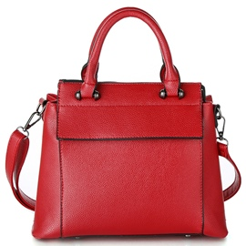 Ericdress Lastest Pure Color Motorcycle Handbag