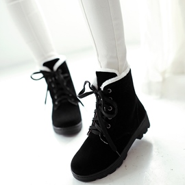 Ericdress Lovely Short Floss Inside Ankle Boots