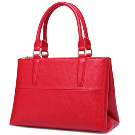 Ericdress Ladylike Solid Color PU Handbag