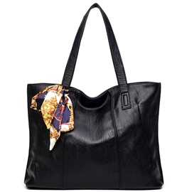 Ericdress Europeamerica Ribbon Thread Decorated Tote Bag