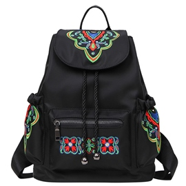Ericdress Multifunction Embroidery Backpack