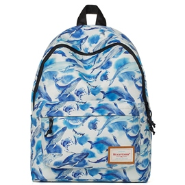 Ericdress Dolphin Print Travel Backpack