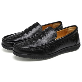 Ericdress Croco Slip on Men's Loafers