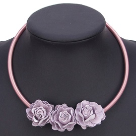 Ericdress Exquisite Rose Pendant Necklace