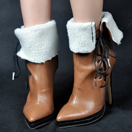 Eicdress Classic Point Toe Ultra High Boots
