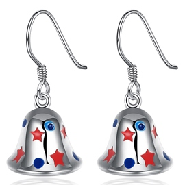 Ericdress Colorful Stars Design Bell Earrings