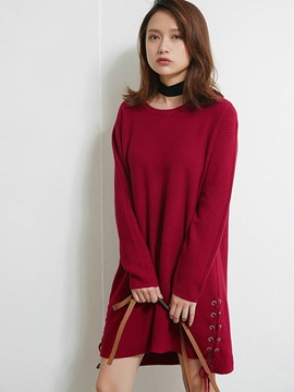 Ericdress Multiple Color Mid-Length Knitwear