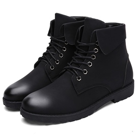 Ericdress Cool Side Zipper Men's Martin Boots