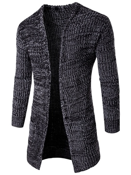 Ericdress Mid-Length Vogue Cardigan Men's Knitwear