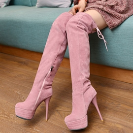 Ericdress Charming Platform Ultra High Thigh High Boots