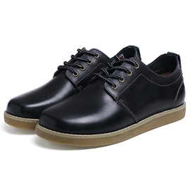 Ericdress Business Round Toe Plain Men's Casual Shoes