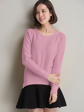 Ericdress Multiple Color Casual Womens Knitwear
