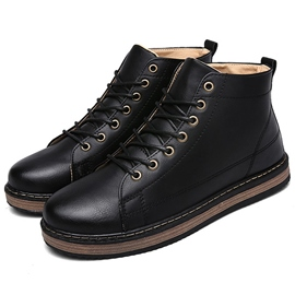 Ericdress Retro Brush Off Men's Boots
